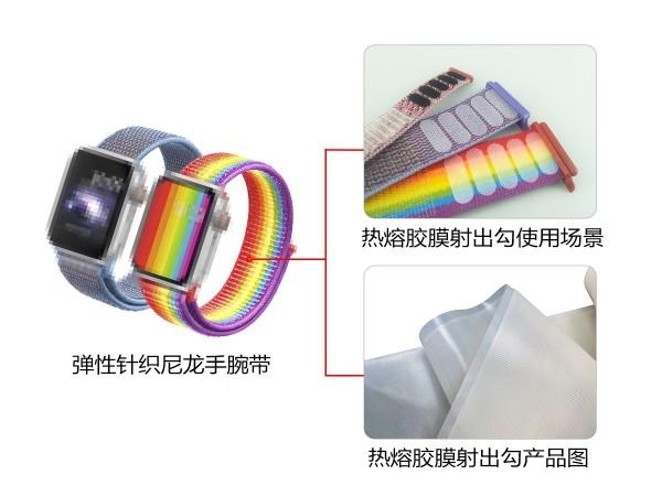 东莞巅峰娱乐粘扣为手腕带产品-提供魔术贴解决方案
