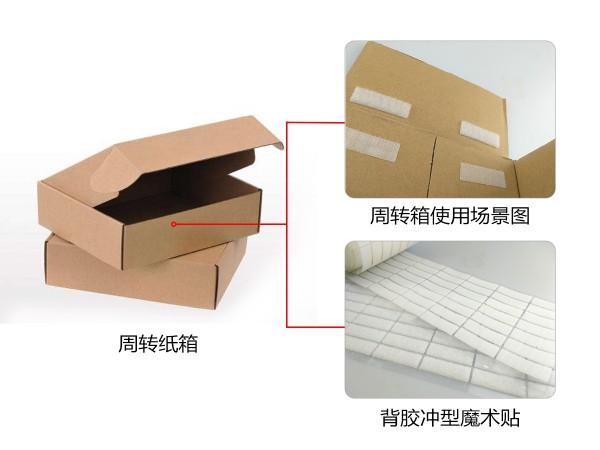 巅峰娱乐粘扣为彩盒行业提供背胶魔术贴解决方案